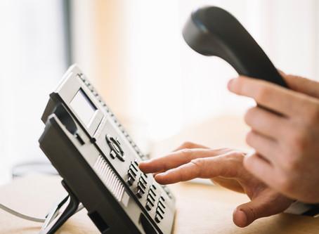 Telefonische bereikbaarheid in juli
