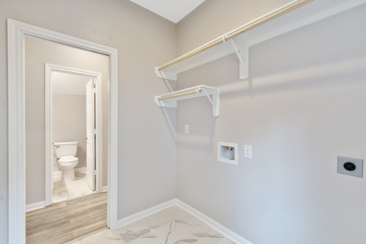 Half Bath, Utility Room
