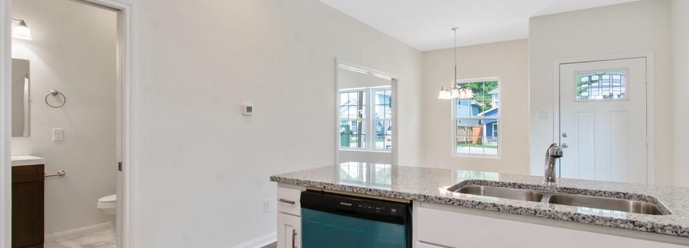 Kitchen/Bath/Entry/ Dining