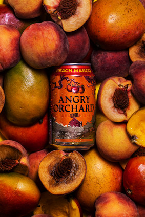 Angry Orchard Peaches and Mangos