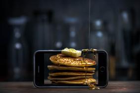 Pancakes you can taste