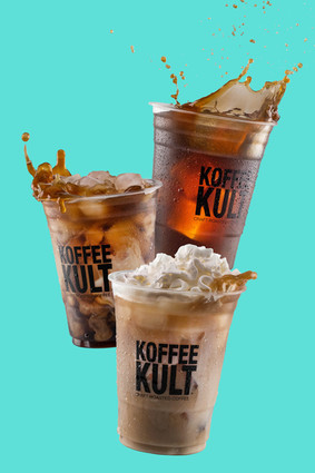 Koffee Kult Iced Trifecta