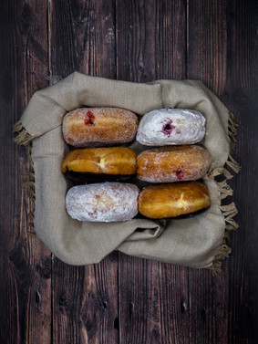Donuts Flat Lay