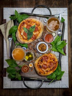 Pizza Flat lay