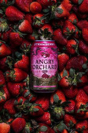Angry Orchard Strawberries