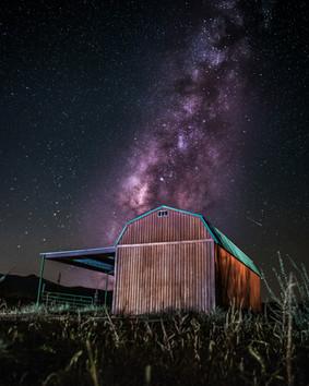 Arizona Barn Milky Way