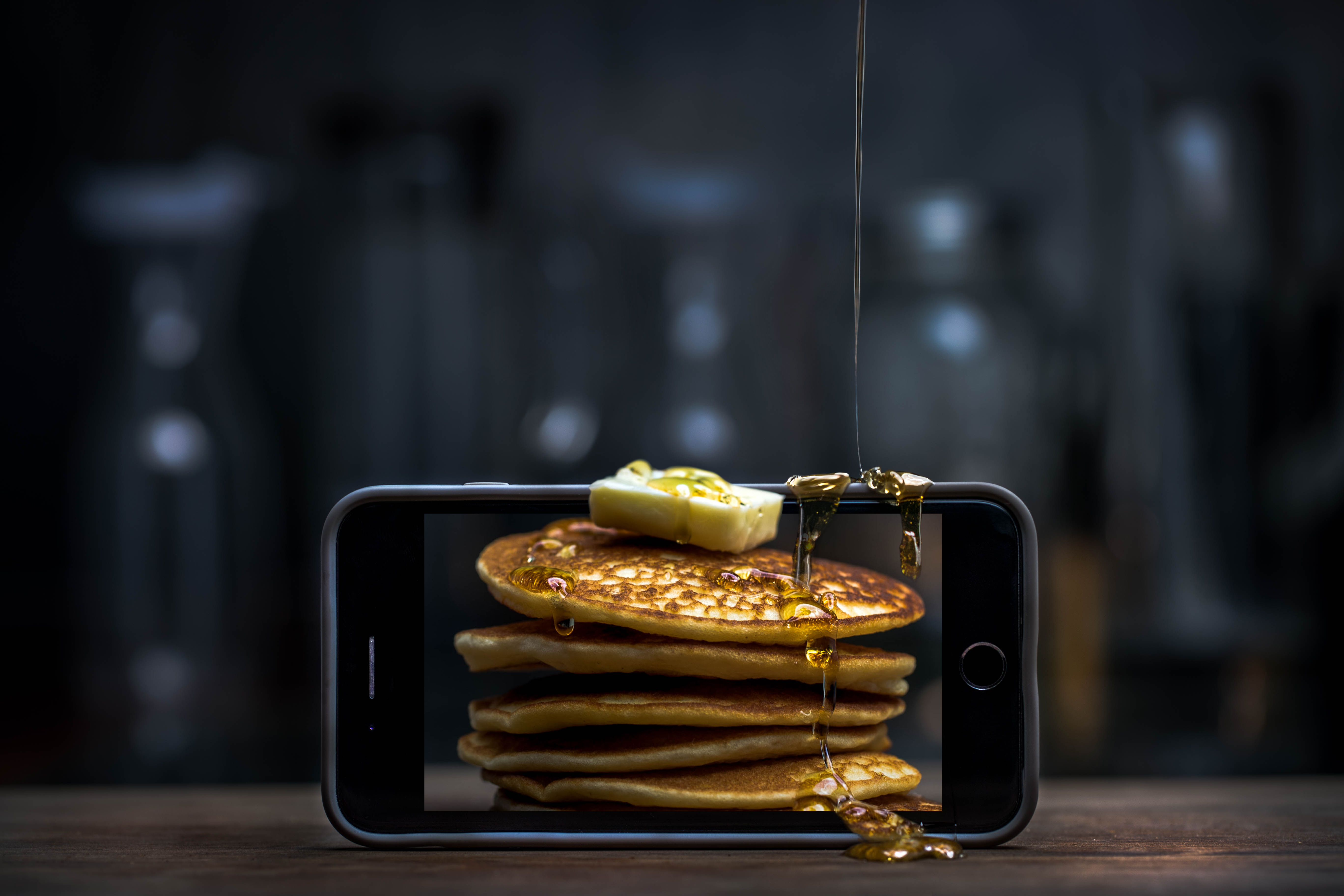iPhone Pancakes