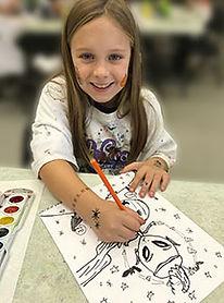 kids art drawing pencil marker classes