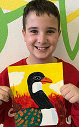 kids art painting classes acrylic canvas