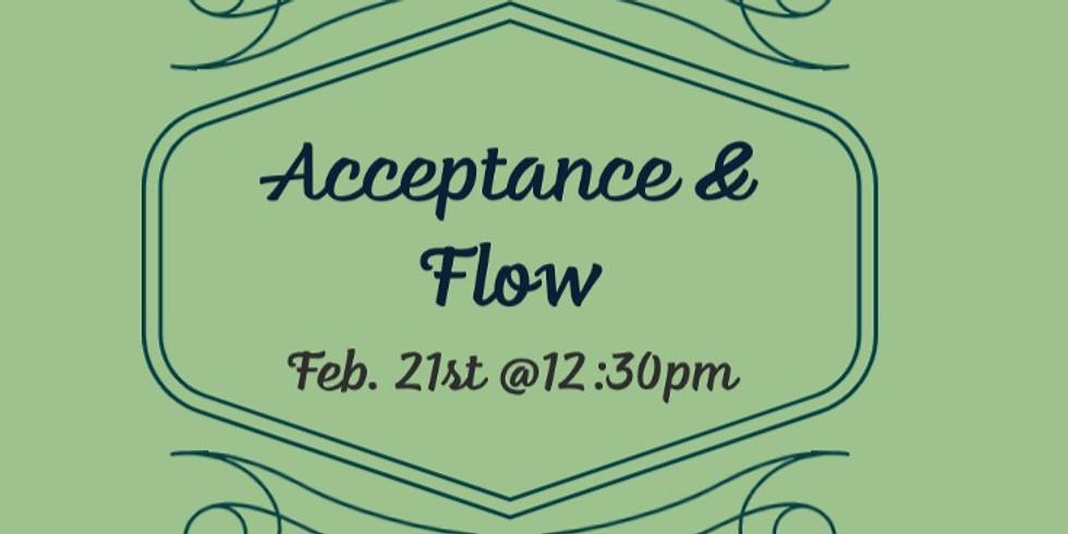 Acceptance & Flow w/ Rev. Meg