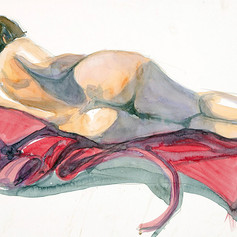 Nude Reclining: Amy Foster