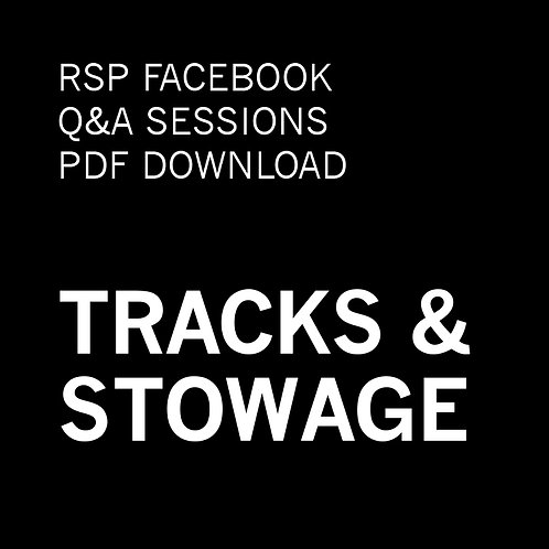 RSP Q&A Sessions - Tracks & Stowage