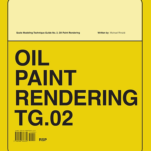TG.02 Oil Paint Rendering PRE-ORDER