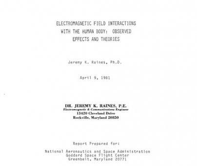 Rapport de la NASA de ... 1981