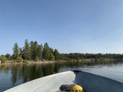 Silver Lake @ Ruby's Resort, Boat