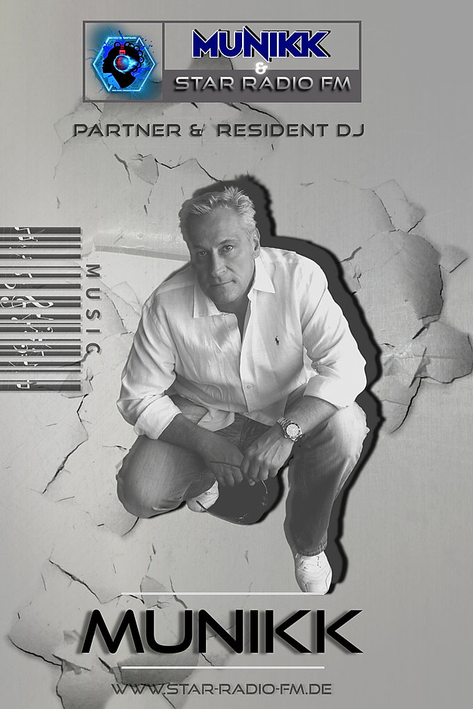 HI, I'M JÜRGEN HAWRYLUCK ALIAS MUNIKK,JASMIN'S DJ AND PARTNER AT STAR RADIO FM