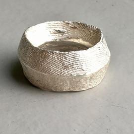 Endlich Feierabend. Silber Fingerring Se