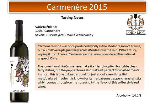 Tasting Notes - Carmenere 2015 page 1.jp