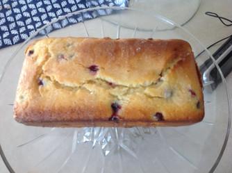 Lemon Blueberry Quickbread