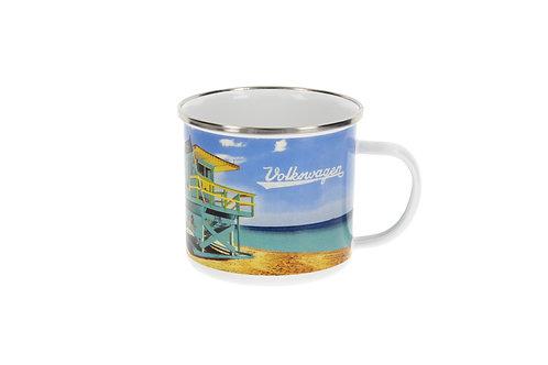 Vento - VW Bulli - T1 Bus - Emaille Tasse – Beachlife