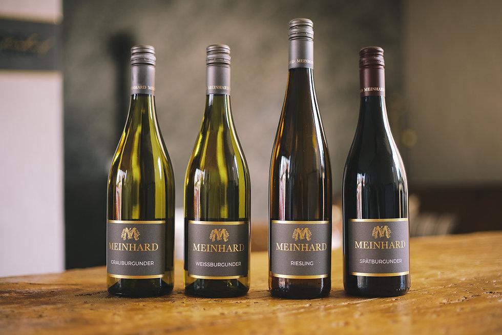 Weinauswahl Weingut Meinhard
