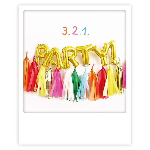 Karte – 3, 2, 1, Party!