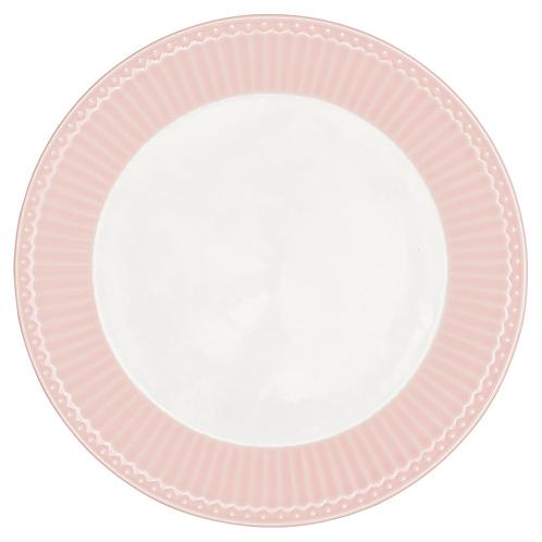 GreenGate - Frühstücksteller Alice - pale pink - rosa