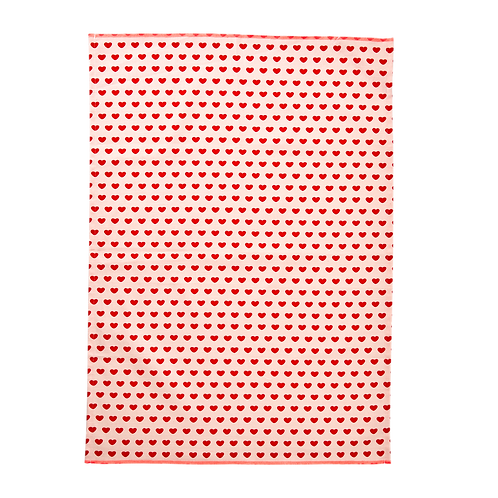 rice Geschirrtuch – Sweet Hearts Print