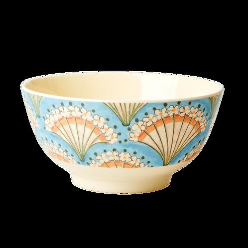 rice - Melamin Schale - Flower Fan Print