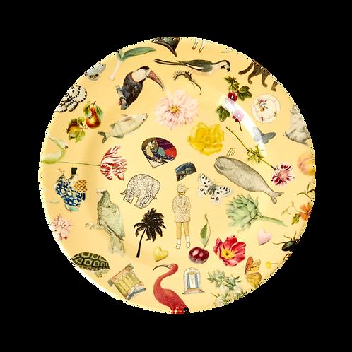 rice - Melamin Teller - Art Print