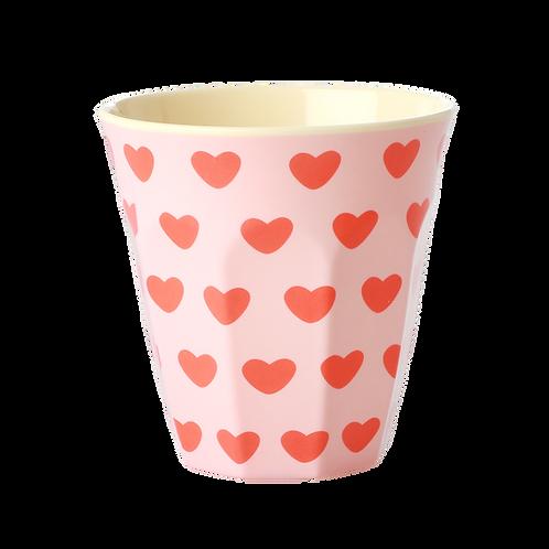 rice - Medium Melamin Becher - Sweet Hearts