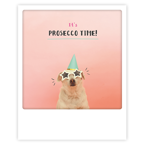Karte – It's Prosecco Time!