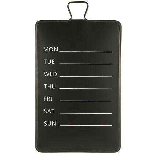 Ib Laursen - Wochenkalender - Metall für die Wand