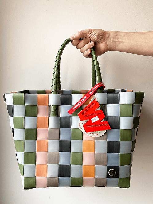 Witzgall - Ice-Bag - Tasche - Shopper - Farbe:  grün, weiß, schwarz