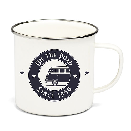 Vento - VW Bulli - T1 Bus - Emaille Tasse – On The Road
