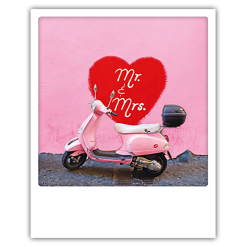 Karte – Mr. & Mrs.