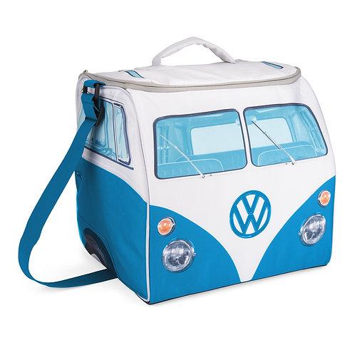 Vento - VW Bulli - T1 Bus - große Kühltasche - Warmhaltetasche -blau
