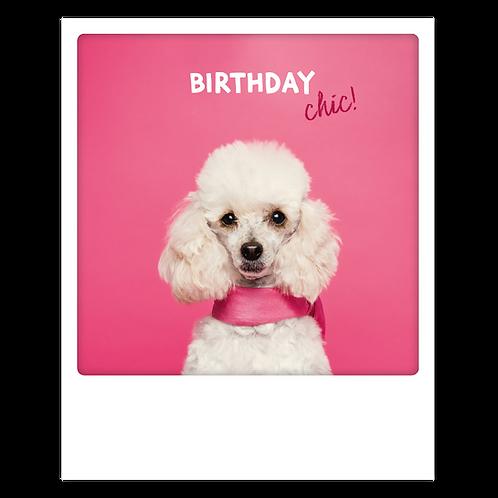 Karte – Birthday chic!