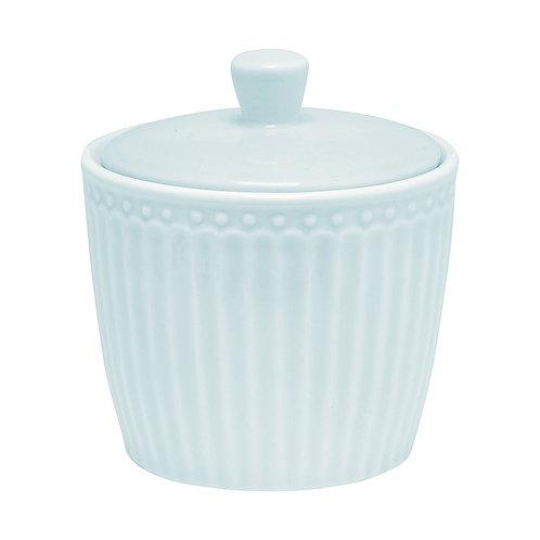 Greengate - Zuckerdose - Marmeladentopf - Alice - pale blue