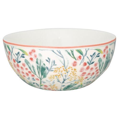 GreenGate - Müslischale - Bowl - Megan weiß - Porzellan