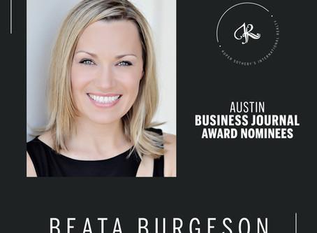 Austin Business Journal Award Nominee
