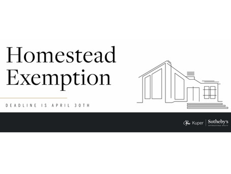 2021 Homestead Exemption | Find Your County