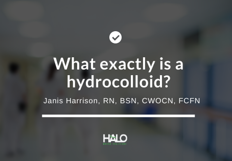 What exactly is a hydrocolloid dressing?