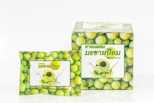 ยาอมผสมมะขามป้อม ตราแสงดาว/Saeng Dao Cough Lozenge/生岛咳嗽滴液)