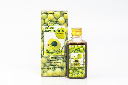 ยาน้ำแก้ไอมะขามป้อมแสงดาว/Makhampom Saeng Dao Cough Syrup/Saeng Dao 咳嗽舒缓液