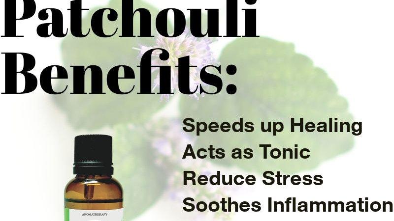 Patchouli Essential Oil (10ml)