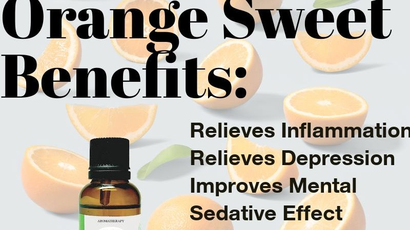 Orange Sweet Essential Oil (10ml)