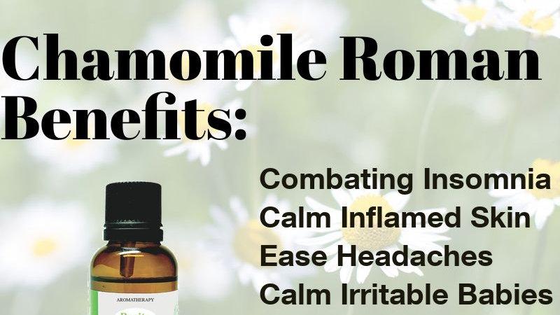 Chamomile Roman Essential Oil (10ml)
