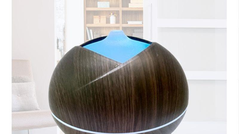 Simple Dark Wood Design Diffuser