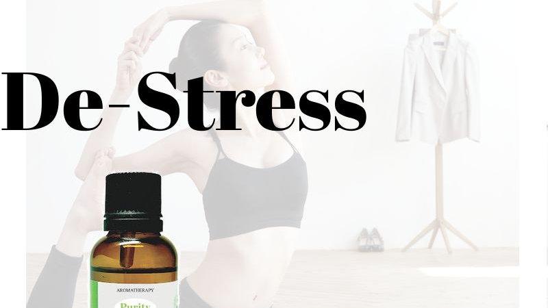 De Stress Essential Oil Blends (30ml)